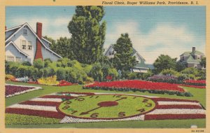 PROVIDENCE , Rhode Island , 1930-40s ; Floral Clock