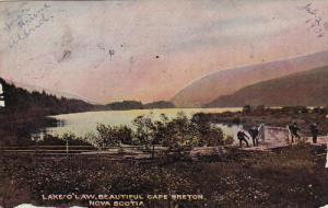 Lake O Law, Beautiful CAPE BRETON, Nova Scotia, Canada, PU-1908