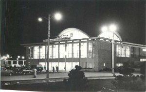 Postcard Romania Constanta Trin station Balcanic Games 1964 stamp javelin throw