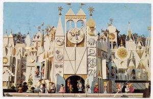 IT'S A SMALL WORLD, Disneyland, used Postcard