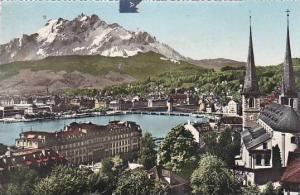 Schweiz Luzern mit Pilayus