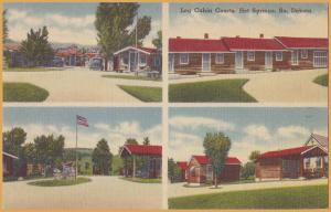 Hot Springs, South Dakota, Log Cabin Courts  -