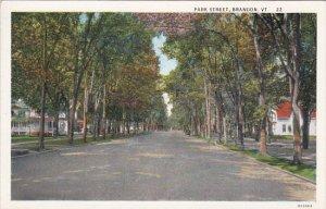 Vermont Brandon Park Street Curteich