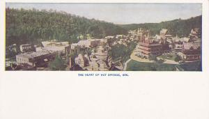 HOT SPRINGS , Arkansas , 1901-07 ; Heart of Hot Springs