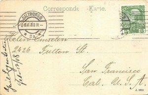 Salzburg Austria 1908 Postcard Kaisern Elisabeth Denkmal Statue Posted to USA