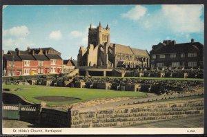 Durham Postcard - St Hilda's Church, Hartlepool   RS460