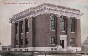 MOOSE JAW, Saskatchewan, Canada; Court House, 1900-10s
