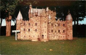 Kensington Prince Edward Island Canada~Clamis Castle at Woodleigh Replicas~1950s