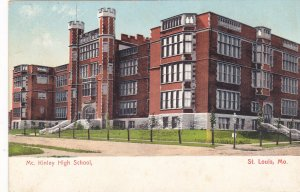 ST. LOUIS  , Missouri , 1901-07 ; McKinley High School