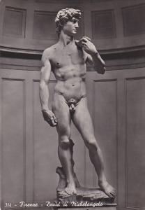 Italy Firenze David di Michelangelo
