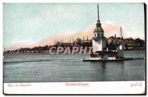Postcard Old Constantinople Leandre Tour of Turkey