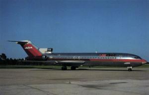 USAIR Boeing 727-227 Advanced (1980s) Airplane AeroGem Postcards