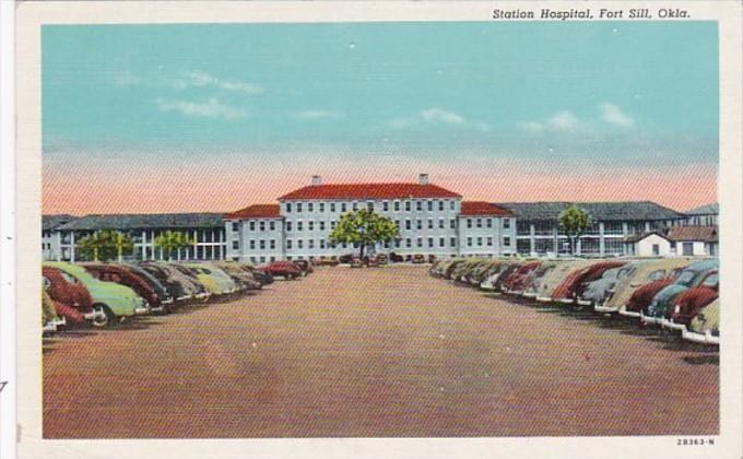 Oklahoma Fort Sill Station Hospital 1951 Curteich