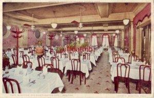 CAFE MINERVA BOSTON, MA Harry C. Demeter, Prop.