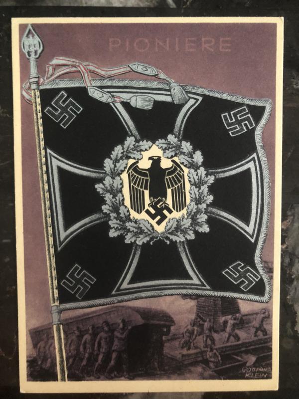 Mint Germany Patriotic Postcard Pioniere Pioneers