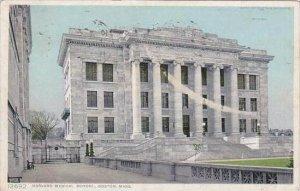 Massachusetts Boston Harvard Medical School 1910