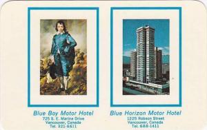 [BC] : Blue Boy Motor Hotel & Blue Horizon Motor Hotel, Vancouver , B.C. , Ca...