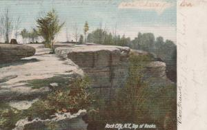 Top of the Rock City Park, Olean NY, New York - pm 1906 - UDB