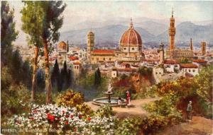 CPA FIRENZE Giardine di Boboli . ITALY (492602)