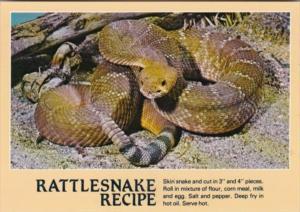 Recipe Card Rattlesnake Recipe