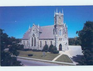 Unused 1980's CHURCH SCENE Bennington Vermont VT A5876