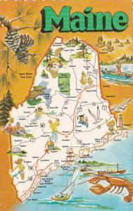 Map Of Maine