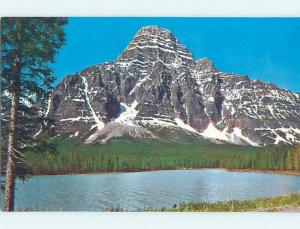 Unused Pre-1980 LAKE SCENE Banff National Park Alberta AB F3175