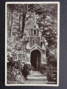 Channel Islands: GUERNSEY The Small Church at Les Vauxbelets c1951 Old Postcard