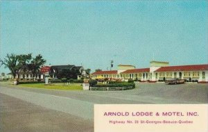 Canada Quebec St Georges Beauce Arnold Lodge &  Motel
