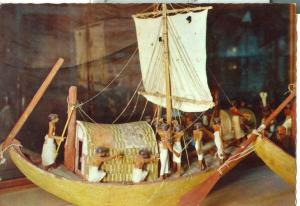 Egypt, The Egyptian Museum, Cairo, Model boat