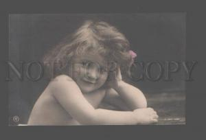 079505 Girl Charming Vintage PHOTO tinted PC