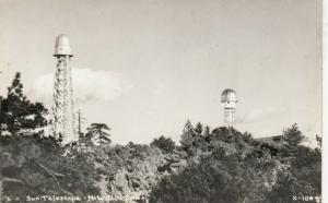 RP: MT. WILSON , California , 1930-40s ; Sun Telescope
