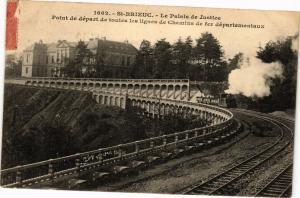 CPA St-BRIEUC-Le Palais de Justice (231433)
