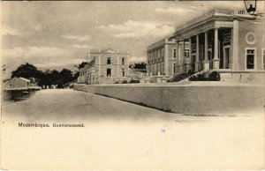 PC CPA MOZAMBIQUE / PORTUGAL, GOVERNMENT BUILDINGS, VINTAGE POSTCARD (b13406)