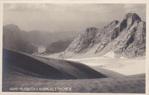 RP; AUSBLICK V. GOSAUGLETSCHER, Austria, 1920-1940s; Mountains