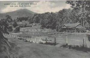 North Carolina Lake Lure Lake Lure Camp For Girls Albertype