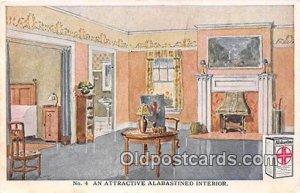 Attractive Alabastine Interior Postal Used Unknown