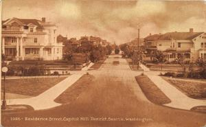 Seattle Washington~Residence Street (Capitol Hill District)~Beautiful Houses~'10