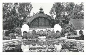RPPC of the Botanical Gardens Balboa Park San Diego CA California