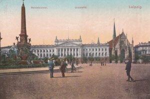 LEIPZIG, Saxony, Germany, PU-1913; Mendebrunnen, Universitat
