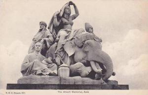 England London Albert Memorial Africa Kensington Gardens Elephant