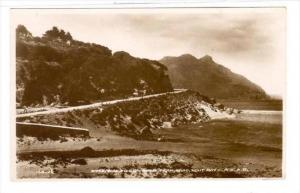 RP  Entrance to Chapman´s Peak Looking to Hout Bay, South Africa, 20-40s