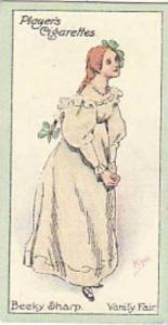 Player Vintage Cigarette Card Characters From Thackeray 1913 No 13 Becky Shar...