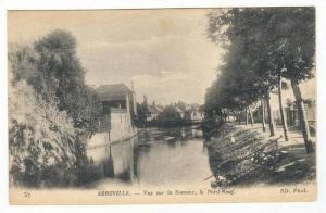 Vue Sur La Somme, Le Pont-Neuf, Abbeville (Somme), France, 1900-1910s