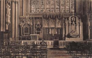 Vintage Postcard YORK Minster Lady Chapel by Francis Frith & Co. Ltd No.58670