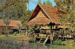 Thai Style Village House in Rose Garden, Suan Sampran Nakon Panom Thailand Wr...