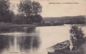 Boat, La Vallee De La Marne, Charly (Aisne), France, 1900-1910s