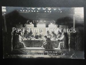 Old RPPC - Whippingham Church, Reredos, I.W.
