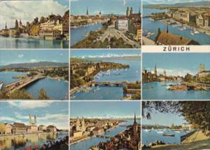 Switzerland Zurich Multi View 1966