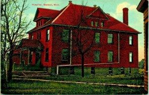 Benson Minnesota MN Hospital Building 1910s Vtg Postcard UNP Unused Bloom Bros